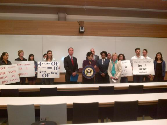 Reps. Chu, Schiff Call on Congress to Stop Student Loan Rate Hikes