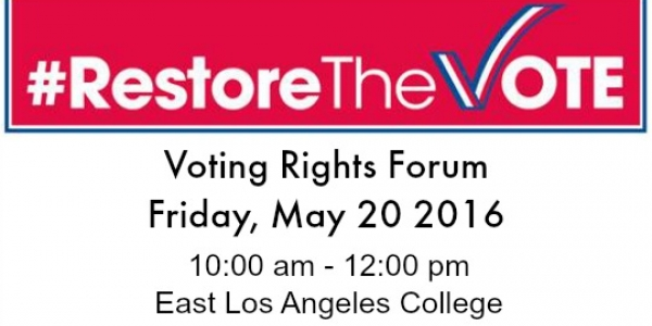 Voting Rights Forum  feature image